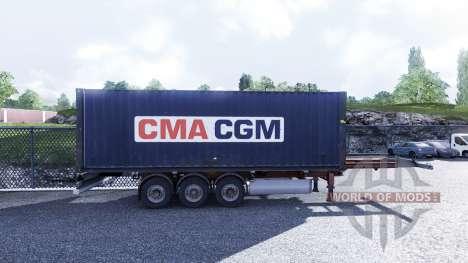Новый окрас контейнерных грузов vol.3 для Euro Truck Simulator 2