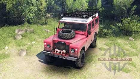 Land Rover Defender Series III v2.2 Red для Spin Tires