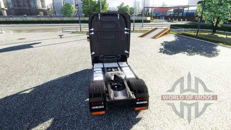 Окрас -R730 F.lli Acconcia- на тягач Scania для Euro Truck Simulator 2