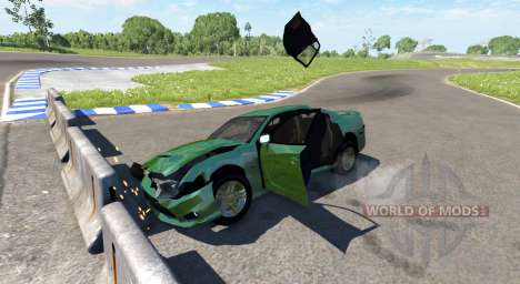 Dodge Charger SRT8 для BeamNG Drive