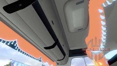 Новый интерьер для тягочей MAN для Euro Truck Simulator 2