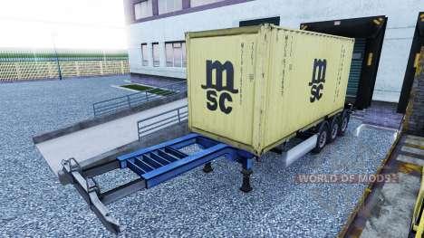 Новый окрас контейнерных грузов vol.2 для Euro Truck Simulator 2
