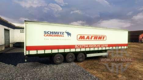 Полуприцеп -Магнит- для Euro Truck Simulator 2