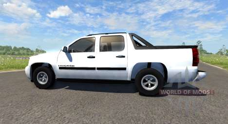 Chevrolet Avalanche для BeamNG Drive