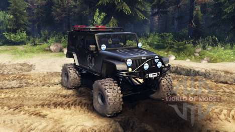 Jeep Wrangler Unlimited SID Nowhere для Spin Tires