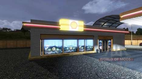 АЗС Shell для Euro Truck Simulator 2
