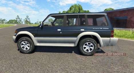 Mitsubishi Pajero 1993 для BeamNG Drive