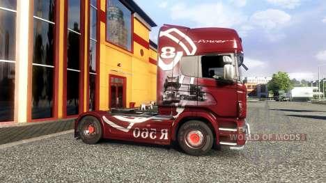 Окрас -R560- на тягач Scania для Euro Truck Simulator 2