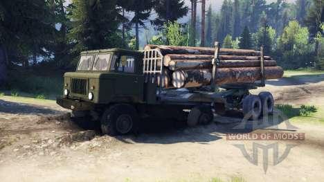 ГАЗ-66 Шишига для Spin Tires