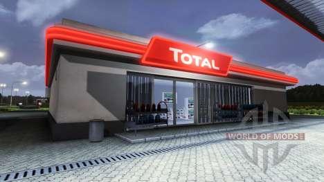 АЗС Total для Euro Truck Simulator 2