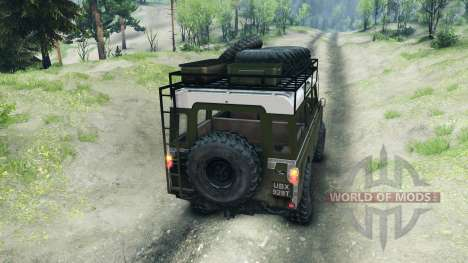 Land Rover Defender Series III v2.2 Olive для Spin Tires