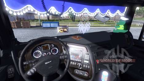 Интерьер для DAF XF для Euro Truck Simulator 2