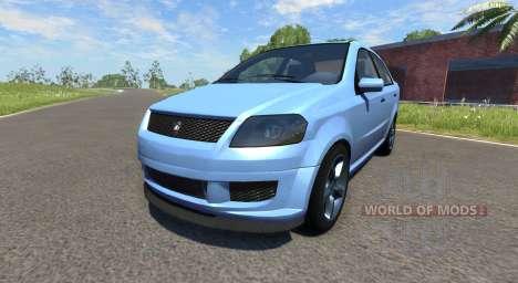 Declasse Asea (Grand Theft Auto V) для BeamNG Drive