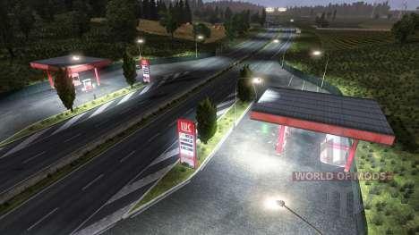 АЗС ЛУКОЙЛ для Euro Truck Simulator 2