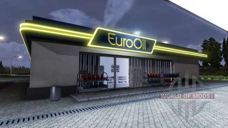 АЗС EuroOil для Euro Truck Simulator 2