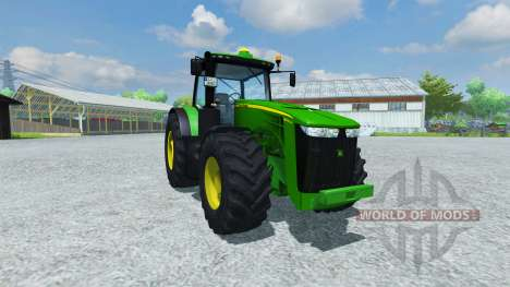 John Deere 8360R v1.4 для Farming Simulator 2013