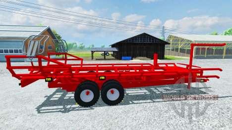 Подборщик круглых тюков Arcusin RB Autostack для Farming Simulator 2013