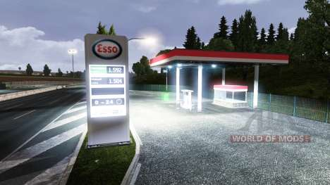 АЗС ESSO для Euro Truck Simulator 2
