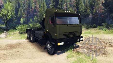 КамАЗ-44108 для Spin Tires