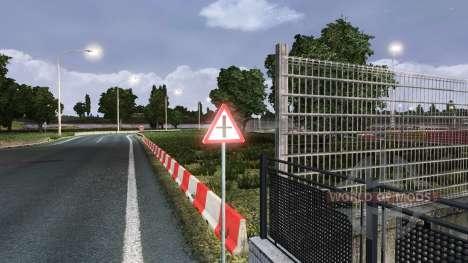 Русские дорожные знаки для Euro Truck Simulator 2