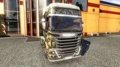Окрас -Sebus Joker- на тягач Scania
