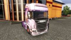 Окрас -R730- на тягач Scania