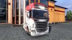 Окрас -R500- на тягач Scania