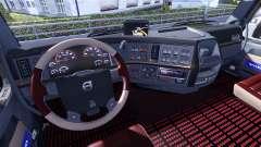 Новый интерьер для тягочей Volvo