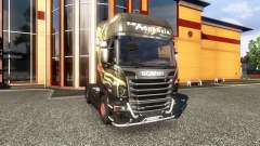 Окрас -R730 F.lli Acconcia- на тягач Scania