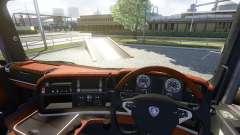 Интерьер для Scania -Wood-