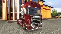 Окрас -R560- на тягач Scania