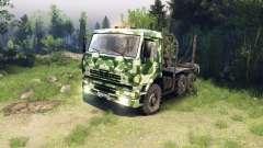 КамАЗ-6520 camo v1
