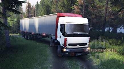 Renault Premium White для Spin Tires
