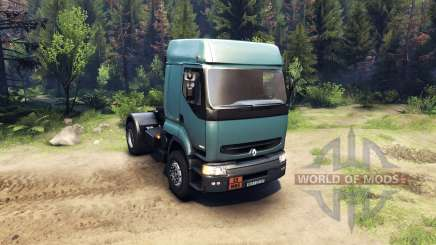 Renault Premium Air Force Blue для Spin Tires