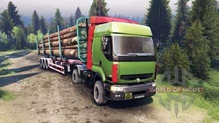 Renault Premium Green для Spin Tires
