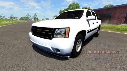 Chevrolet Avalanche для BeamNG Drive