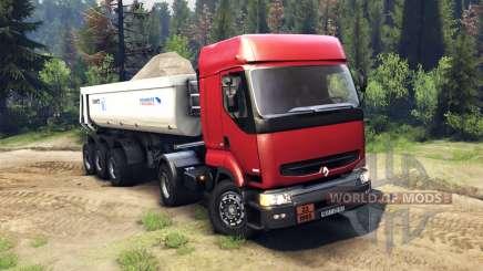 Renault Premium Red для Spin Tires
