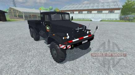 КрАЗ-258з для Farming Simulator 2013