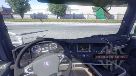 Scania T500 Mark 2 black parts для Euro Truck Simulator 2