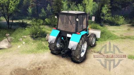МТЗ-1221 Беларус v2.0 для Spin Tires