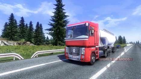 Больше AI-траффика v2.0 для Euro Truck Simulator 2