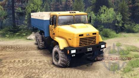 КрАЗ-6446 для Spin Tires