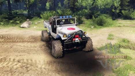 Toyota FJ40 Zero для Spin Tires