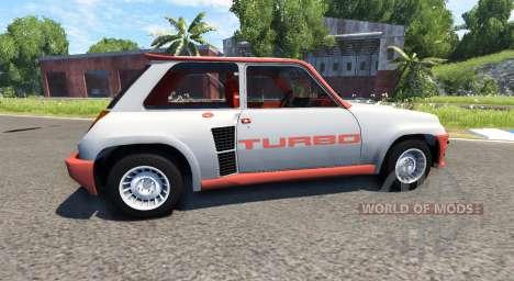 Renault 5 Turbo для BeamNG Drive