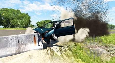 Honda Civic Si 1986 для BeamNG Drive