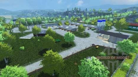 Friesenmap для Farming Simulator 2013