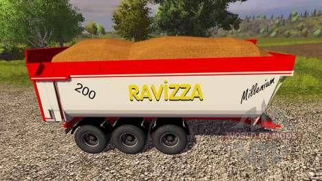 Прицепы Ravizza Millenium 8200 для Farming Simulator 2013