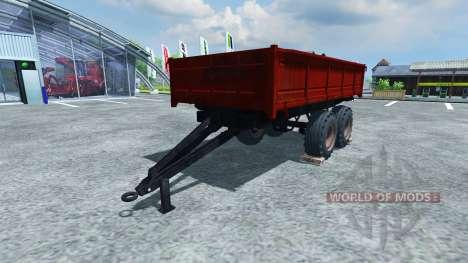 Полуприцеп ПТУ-7.5 для Farming Simulator 2013