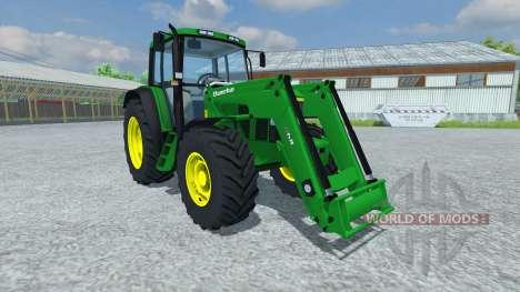 John Deere 6506 FL v2.5 для Farming Simulator 2013