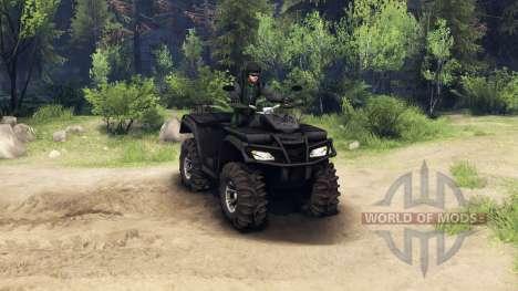 Polaris Sportsman 4x4 для Spin Tires